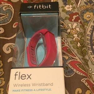 Fitbit Flex in hot pink